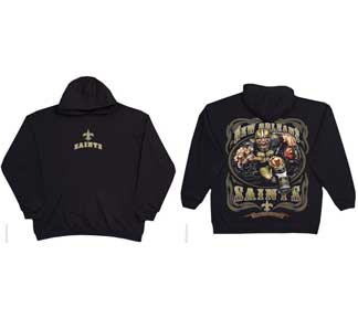 c03ecf1f7 Item   RH009 Group NFL - ALL NEW ORLEANS SAINTS RUNNING BACK HOODIE Color   BLACK Size  M Size  L Size  XL Size  2XL+ 1.00