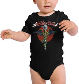 Authentic MOTLEY CRUE Dr Feelgood Kid Toddler T-Shirt 2T 3T 4T NEW